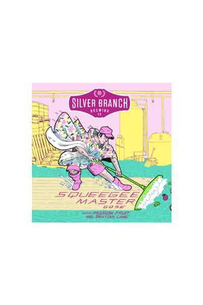 Silver Branch Squeegee Master w/Passion Fruit & Tahitian Lime