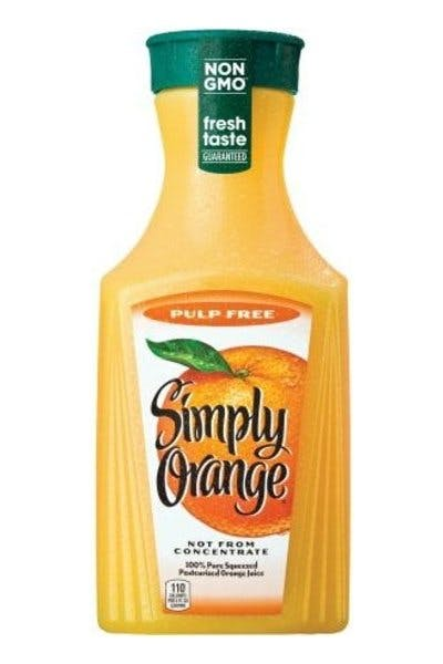 Simply Original Pulp Free Orange Juice
