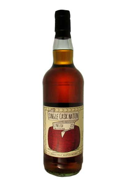 Single Cask Nation Clynelish Scotch 23 Year