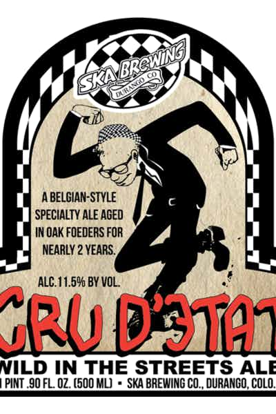 Ska Cru D'etat Wild In The Streets Ale