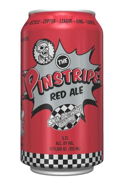 Ska Pinstripe Red
