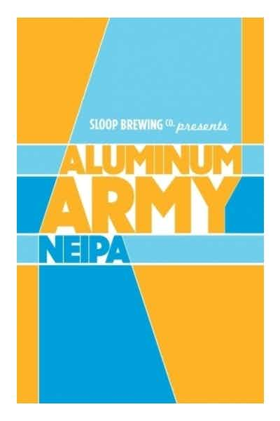 Sloop Brewing Aluminum Army