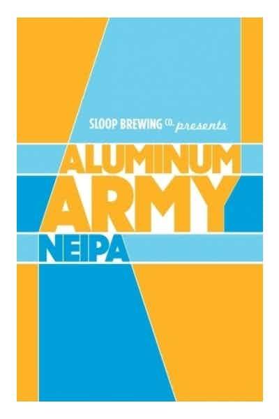 Sloop Brewing Aluminum Army