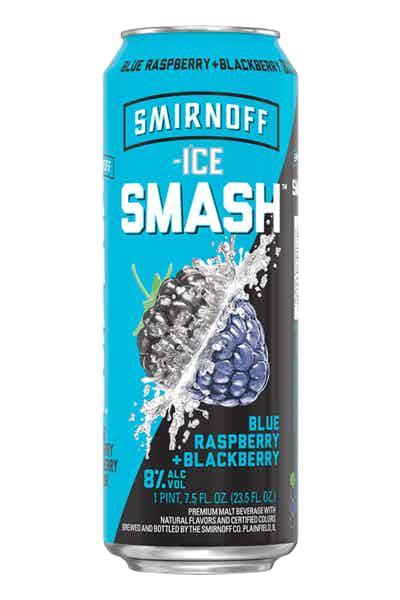 Smirnoff Ice Smash Blue Raspberry + Blackberry