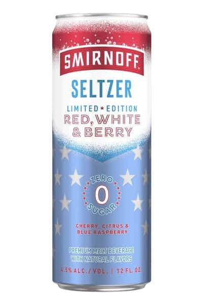 Smirnoff Seltzer Red White and Berry