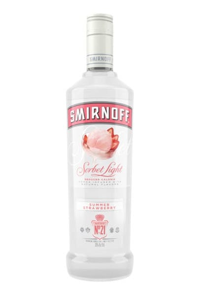 Smirnoff Sorbet Light Summer Strawberry