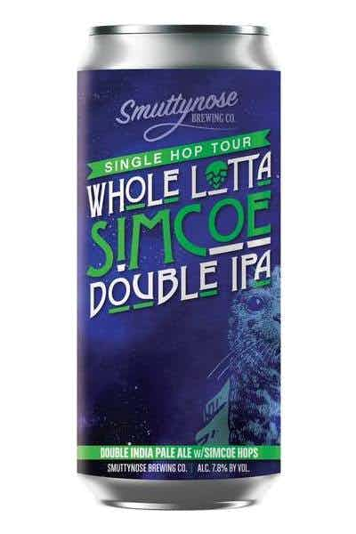 Smuttynose Whole Lotta Simcoe Double IPA
