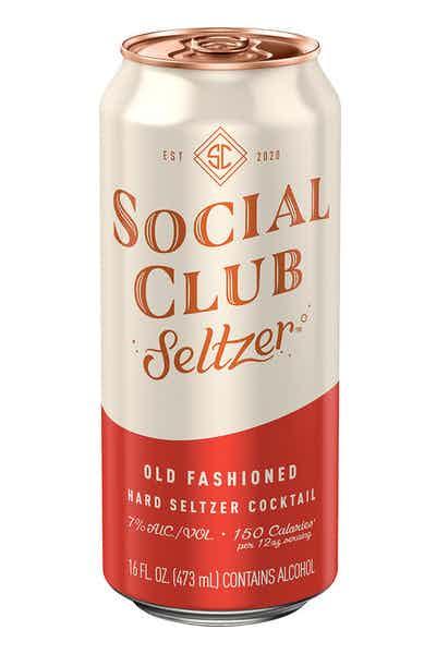 Social Club Seltzer Old Fashioned