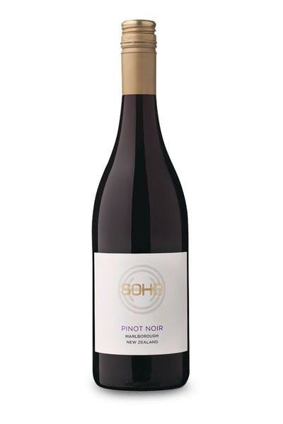 Soho Marlborough Pinot Noir 2015