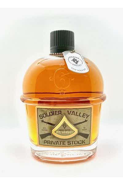 Soldier Valley Private Stock Rye Whiskey