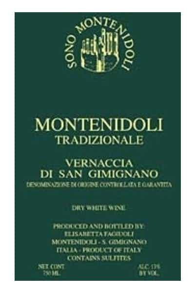 """Sono Montenidoli """"Tradizionale"""" Vernaccia di San Gimignano DOCG"""