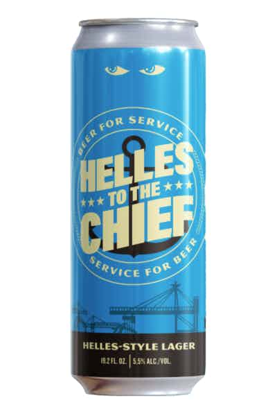 Speakeasy Helles to the Chief