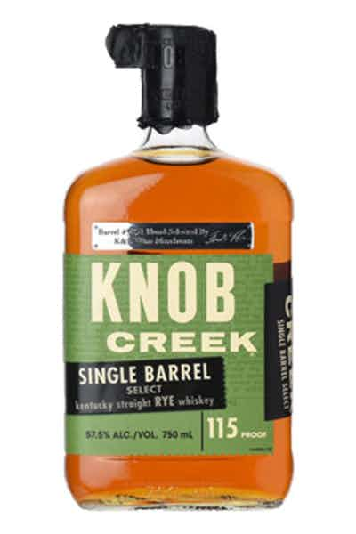 Single Barrel Knob Creek Rye 115 Proof Private Edition