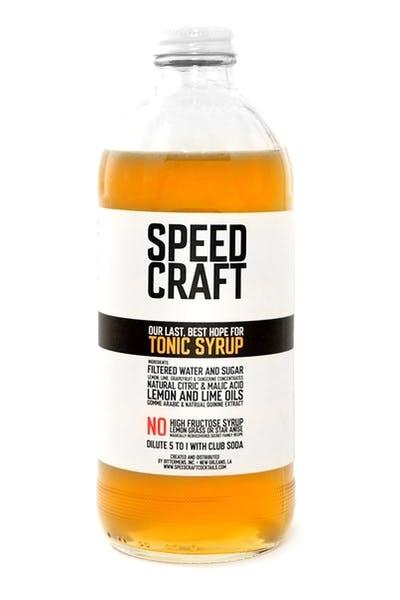 Speed Craft Tonic Syrup