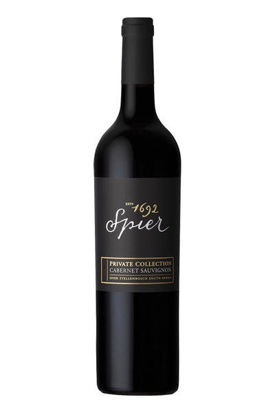 Spier Cabernet Private Collection