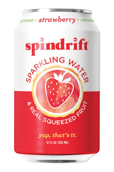 Spindrift Strawberry Sparkling Water