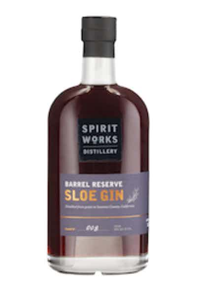 Spirit Works Distillery Barrel Reserve Sloe Gin