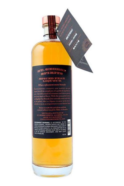 St. George Spiced Pear Liqueur