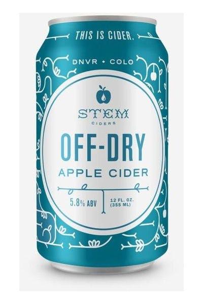 Stem Cider Off Dry