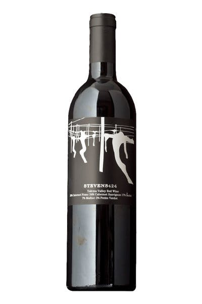 Stevens Winery Red Wine 424 Yakima Valley