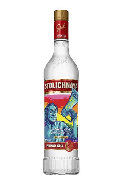 Stoli® Harvey Milk Vodka