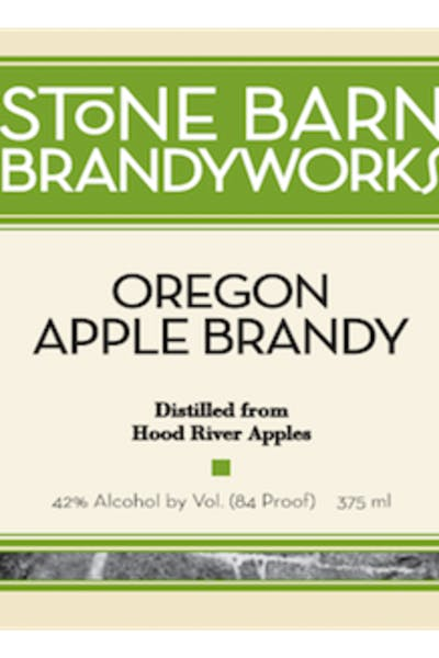 Stone Barn Oregon Apple Brandy