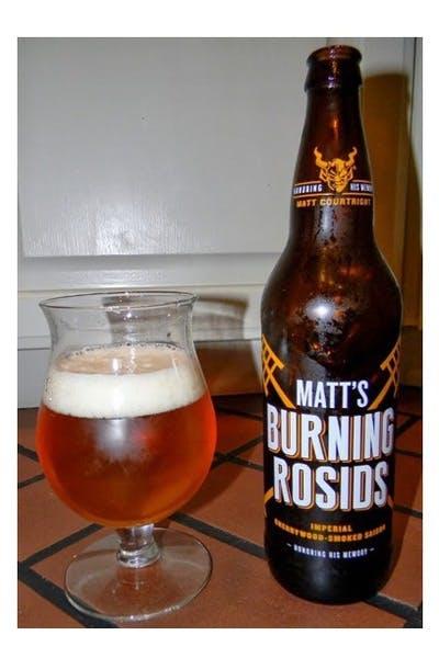 Stone Matt's Imperial Cherrywood-Smoked Saison