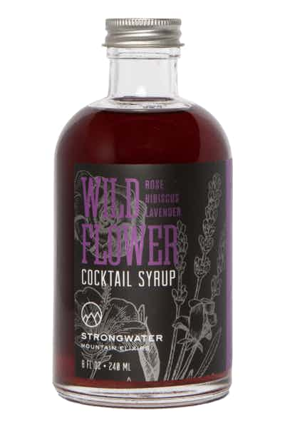 Strongwater Wild Flower Cocktail Syrup