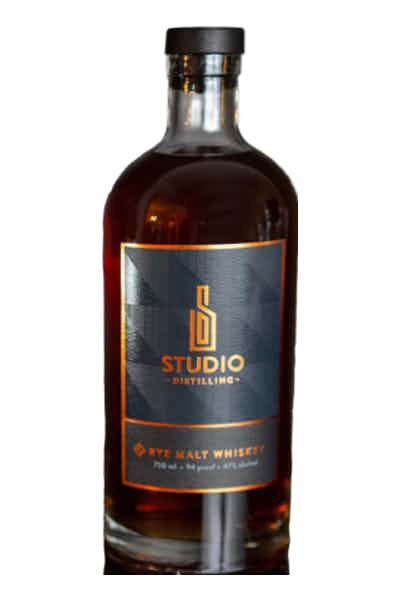 Studio Distilling Rye Malt Whiskey