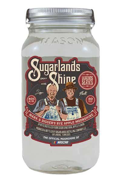 Sugarlands Rye Apple Moonshine