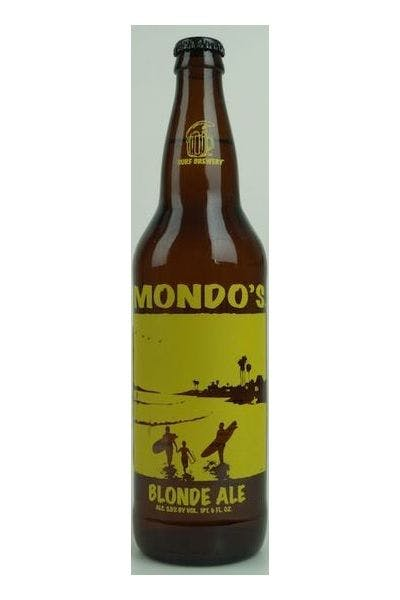 Surf Brewing Mondo's Blonde Ale