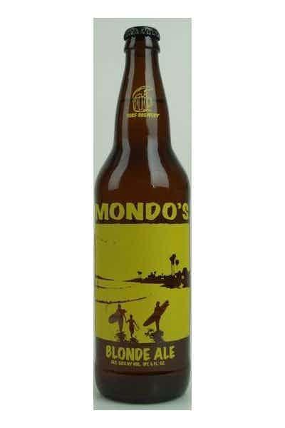 Surf Brewing Mondo's Blonde Ale