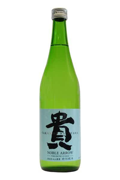 "Taka ""Noble Arrow"" Tokubetsu Junmai Sake"