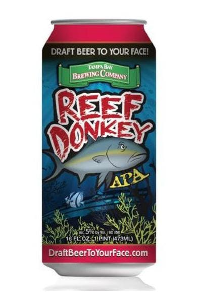 Tampa Bay Brewing Reef Donkey APA