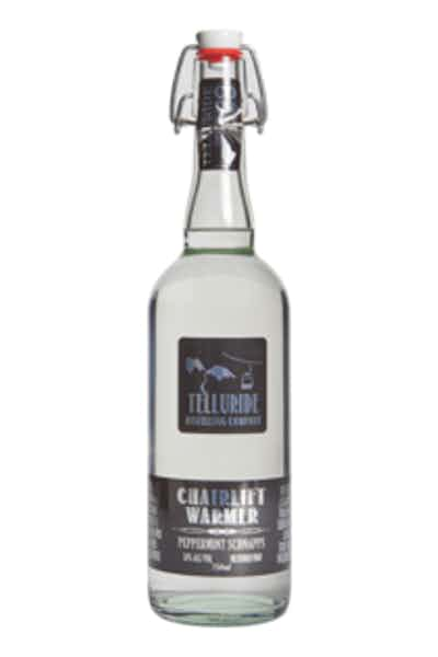 Telluride Distilling Co. Chairlift Warmer Peppermint Schnapps