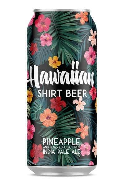 Tem Blor Brewing Co Hawaiian Shirt Beer
