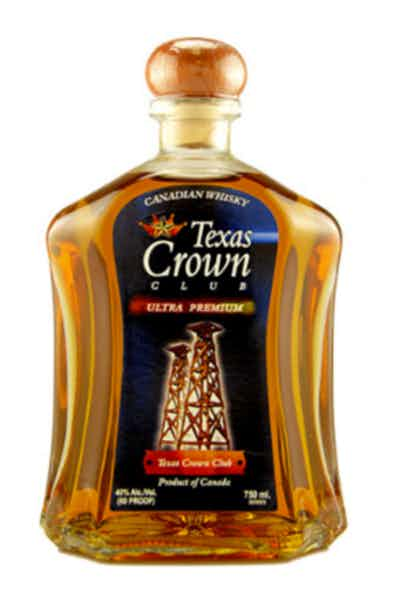 Texas Crown Club Canadian Whisky