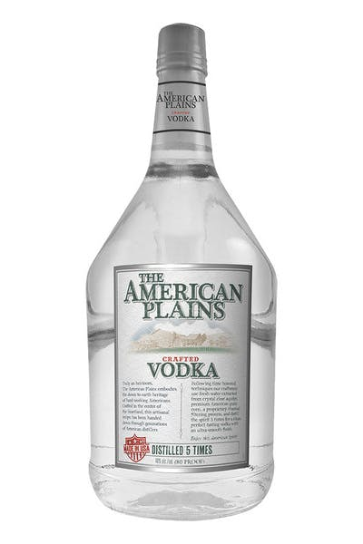 The American Plains Vodka