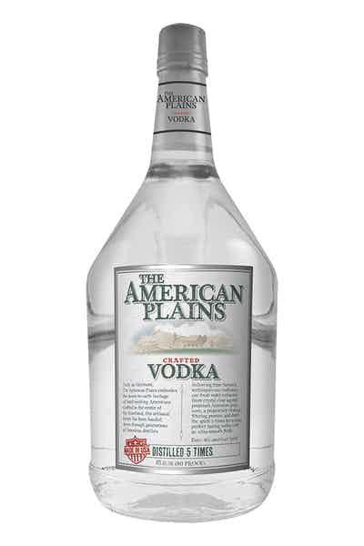 The American Plains Vodka