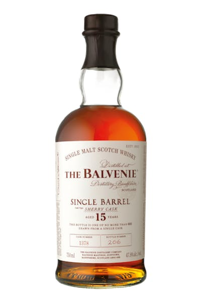 The Balvenie Single Barrel 15 Year