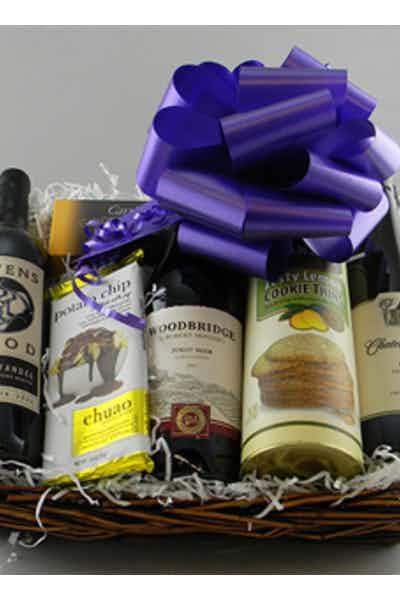 The Chocolate & Wine Basket