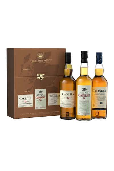 The Classic Malt Coastal Collection Gift Set