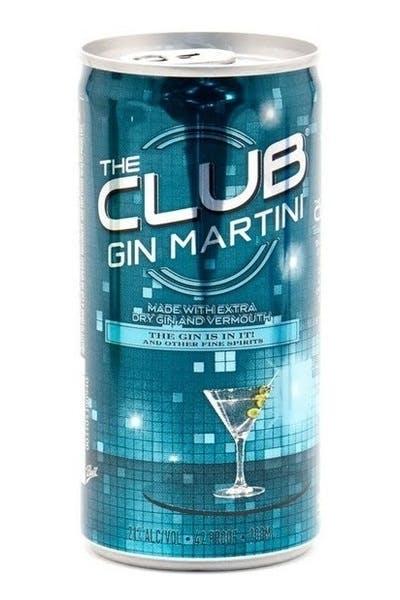 The Club Gin Martini