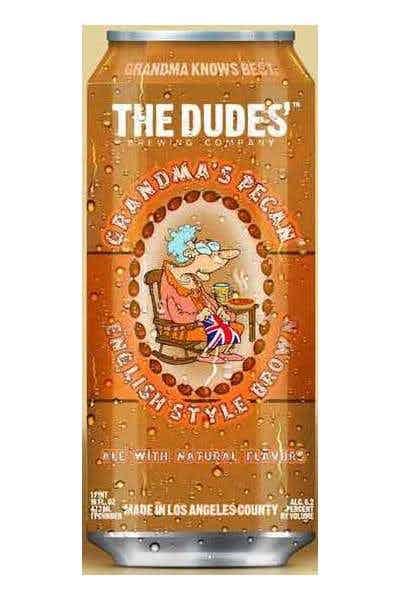 The Dudes Grandmas Pecan Can