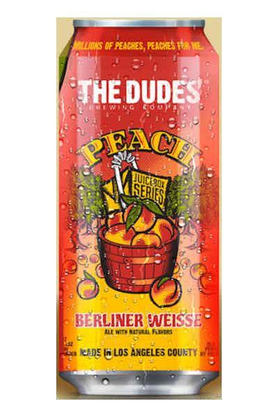 The Dudes' Peach Berliner Weisse