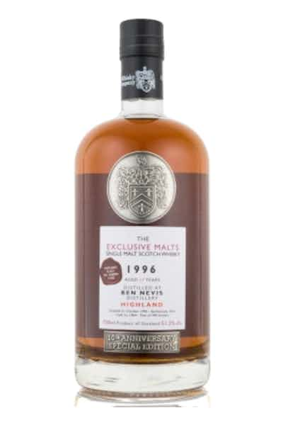 The Exclusive Malts Ben Nevis 17 Year