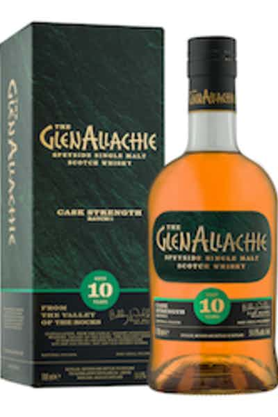 The GlenAllachie Cask Strength Single Malt Scotch Whisky 10 Year