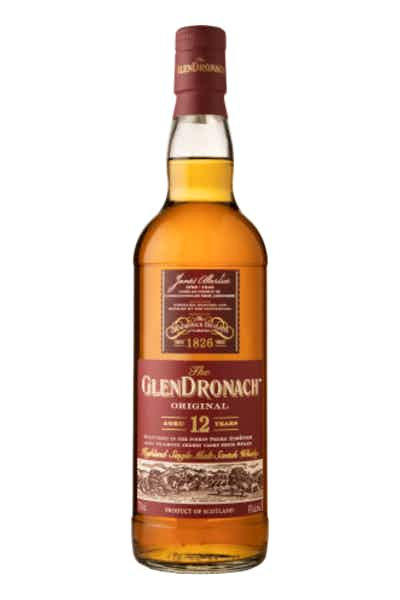 The GlenDronach Single Malt Scotch Whisky Original Aged 12 Years