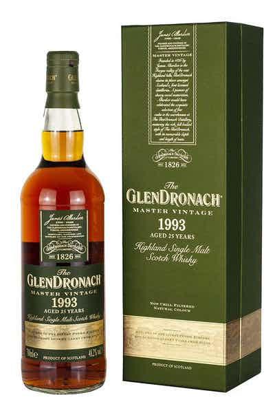 The GlenDronach Master Vintage 1993