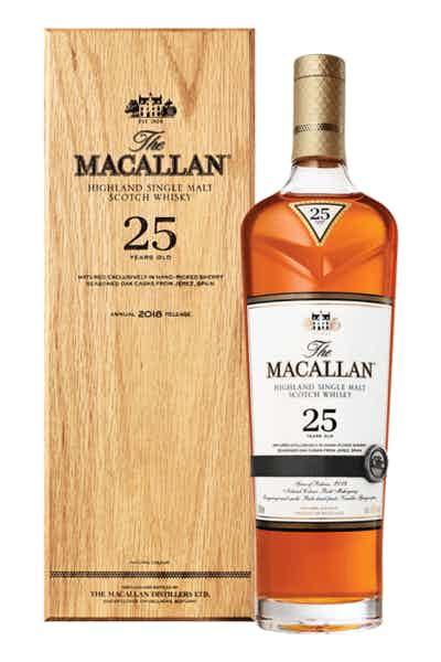 The Macallan Sherry Oak 25 Years Old